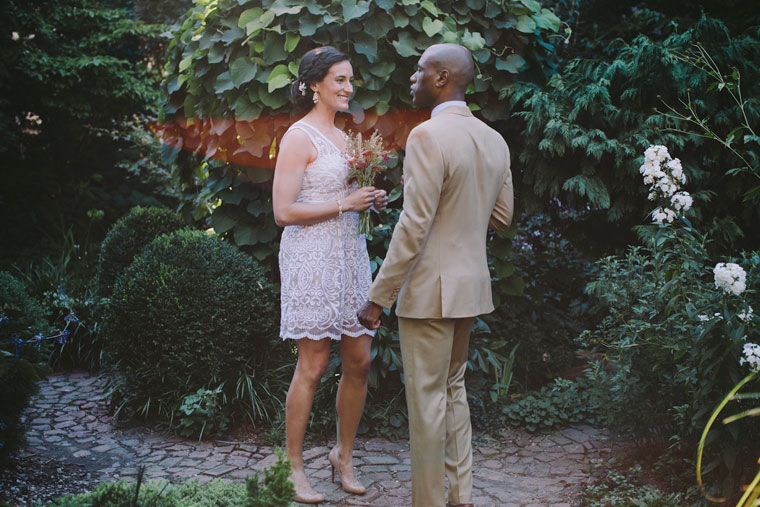 Here Is A Wedding There, At One Of The Community Gardens Nestled In Among  The Buildings. It Was Just Perfect.